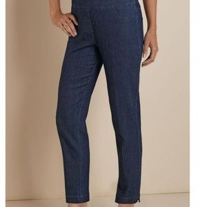 Soft Surroundings Super Stretch Ankle Jeans XS